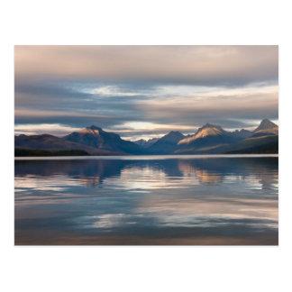 Lago McDonald Tarjeta Postal