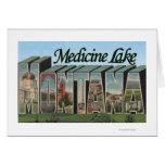 Lago medicine, Montana Felicitacion