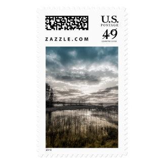 Lago melancólico sellos
