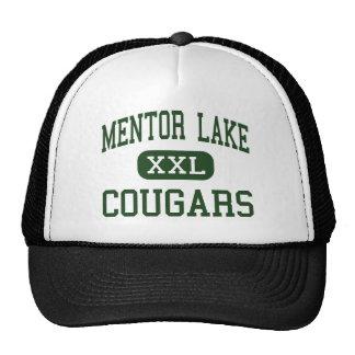 Lago mentor - pumas - católico - mentor Ohio Gorros