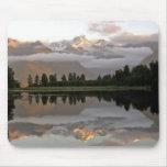 Lago mirror - lago Matheson Mousepad Tapetes De Raton