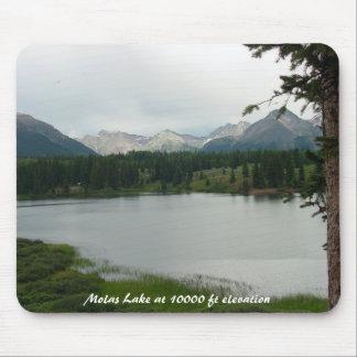 Lago Molas en 10.000 pies de la elevación de cojín Tapetes De Raton