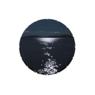 Lago moonlight latas de caramelos