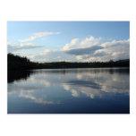 Lago Moosehead de la postal, Maine