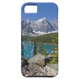 Lago moraine, canadiense Rockies, Alberta, Canadá iPhone 5 Fundas