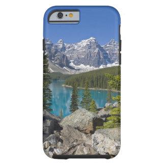 Lago moraine, canadiense Rockies, Alberta, Canadá Funda De iPhone 6 Tough