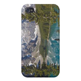 Lago moraine, canadiense Rockies, Alberta, Canadá  iPhone 4/4S Fundas