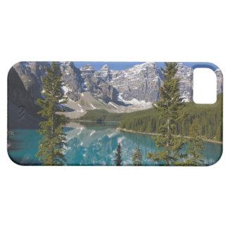 Lago moraine, canadiense Rockies, Alberta, Canadá iPhone 5 Carcasas