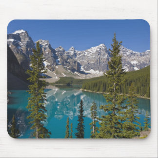 Lago moraine, canadiense Rockies, Alberta, Canadá  Tapetes De Ratones