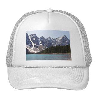 Lago moraine en Banff Gorros