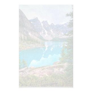 Lago moraine papeleria de diseño