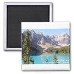 Lago moraine/parque nacional de Banff, Canadá Imán De Nevera