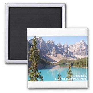 Lago moraine parque nacional de Banff Canadá Imán De Nevera