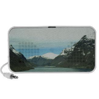 Lago mountain altavoz de viajar