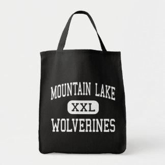 Lago mountain - carcayúes - alto - lago mountain bolsa tela para la compra