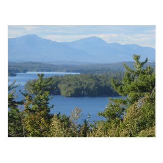 Lago mountain de New Hampshire Tarjeta Postal