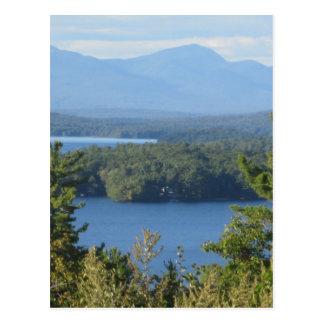 Lago mountain de New Hampshire Postales