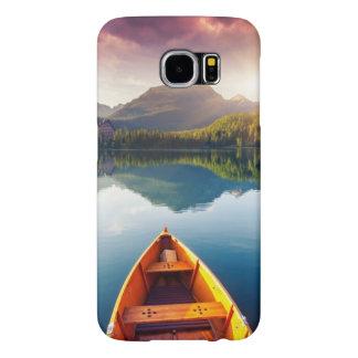 Lago mountain en el parque nacional alto Tatra 3 Fundas Samsung Galaxy S6