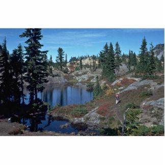 Lago mountain escultura fotografica