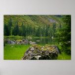 Lago mountain impresiones