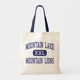 Lago mountain - leones de montaña - alto - Redding Bolsa Tela Barata