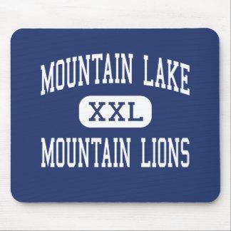 Lago mountain - leones de montaña - alto - Redding Mousepad