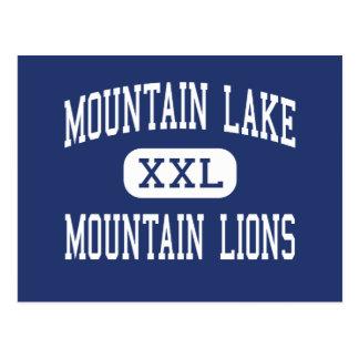 Lago mountain - leones de montaña - alto - Redding Tarjeta Postal