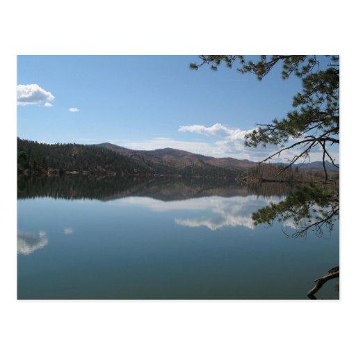 Lago mountain tarjeta postal