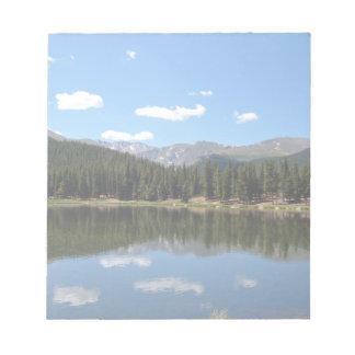 Lago Mt Evans Colorado echo Bloc De Notas