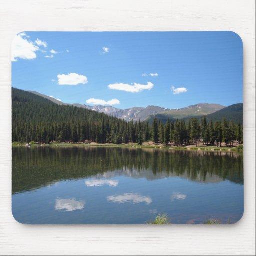 Lago Mt Evans Colorado echo Tapetes De Ratones