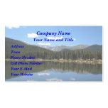 Lago Mt Evans Colorado echo Tarjeta De Visita