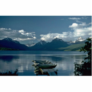 Lago navigation escultura fotográfica