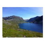 Lago noruego postales