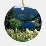 Lago ocultado agua Montana Ornamento Para Arbol De Navidad