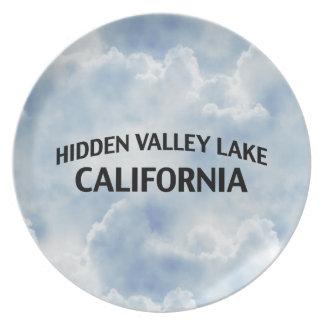 Lago ocultado California valley Plato