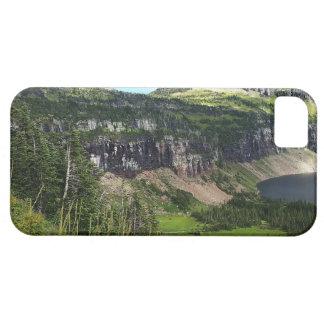 Lago ocultado en Parque Nacional Glacier Funda Para iPhone SE/5/5s