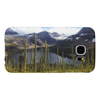 Lago ocultado park nacional de Glaicer Fundas Samsung Galaxy S6