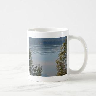 Lago Odell, Oregon Taza Básica Blanca