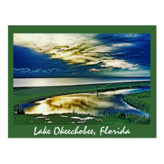 Lago Okeechobee, la Florida, los E.E.U.U. Postal