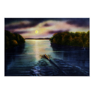 Lago Onondaga de Syracuse Nueva York en claro de l Posters