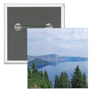 Lago Oregon crater Pin Cuadrado