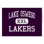 Lago Oswego - Lakers - altos - lago Oswego Oregon Tarjetón