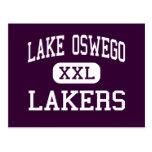 Lago Oswego - Lakers - altos - lago Oswego Oregon Postales