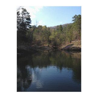 Lago Ouachita Arkansas Impresion De Lienzo
