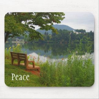 Lago pacífico alfombrilla de ratones