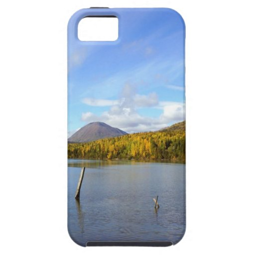 Lago pacífico iPhone 5 protectores