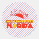 Lago Panasoffkee, la Florida Pegatina Redonda
