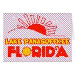 Lago Panasoffkee, la Florida Tarjeta