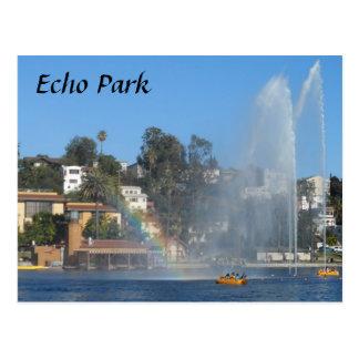 Lago park del eco tarjetas postales