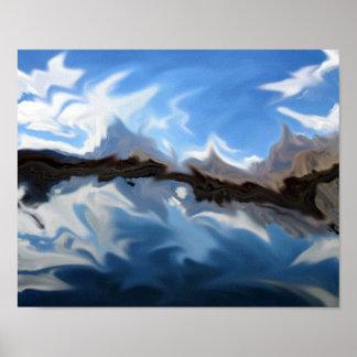 Lago Pastel Print